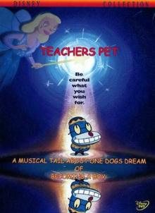 Disney's Teacher's Pet 2004 DVD Cover
