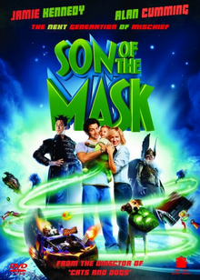 Son of the Mask 2005 DVD Cover