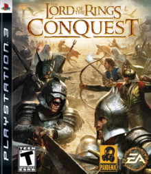 The Lord of the Rings Conquest 2009 Game Cover