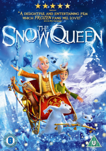 The Snow Queen 2013 DVD Cover