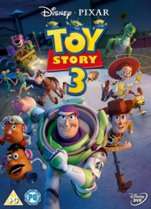 Toy Story 3 2010 DVD Cover