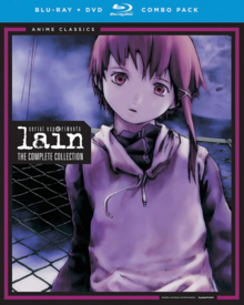 Serial Experiments Lain 1999 Blu-Ray DVD Cover
