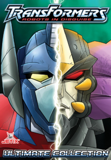 Transformers Robots in Disguise 2001 DVD Cover