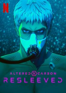 Altered Carbon Resleeved 2020 Netflix Poster