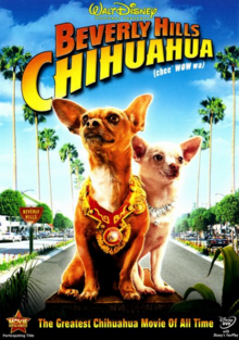 Beverly Hills Chihuahua 2008 DVD Cover