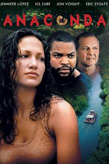 Anaconda 1997 DVD Cover
