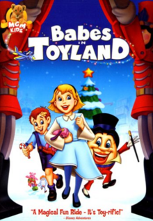 Babes in Toyland 1997 DVD Cover