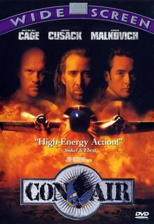 Con Air 1997 DVD Cover