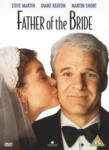 Father of the Bride 1991 DVD Cover