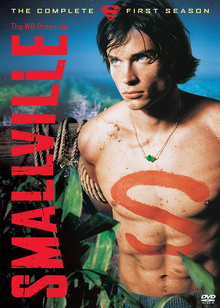 Smallville 2001 DVD Cover
