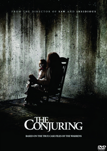 The Conjuring 2013 DVD Cover