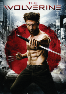 The Wolverine 2013 DVD Cover