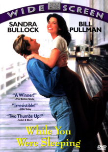 While You Were Sleeping 1995 DVD Cover