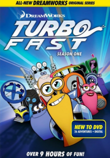 DreamWorks Turbo FAST 2013 DVD Cover