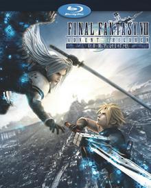 Final Fantasy VII Advent Children Complete 2009 BLU-RAY Cover