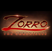 Zorro The Chronicles 2016 Title Card