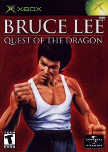 Bruce Lee Quest of the Dragon 2002 Game Cover