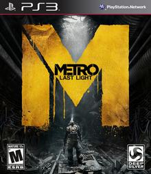 Metro Last Light 2013 Game Cover