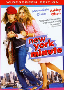 New York Minute 2004 DVD Cover