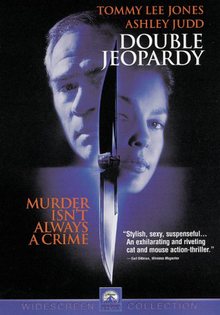 Double Jeopardy 1999 DVD Cover