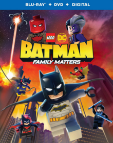 Lego DC Batman Family Matters 2019 BLU-RAY+DVD+DIGITAL Cover