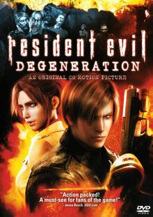 Resident Evil Degeneration 2008 DVD Cover