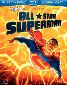 All-Star Superman 2011 BLU-RAY + DVD + DIGITAL COPY Cover