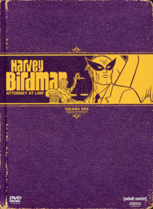 Harvey Birdman, Attorney at Law 2000 DVD Cover