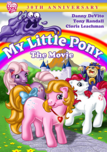 My Little Pony The Movie 1986 DVD Cover