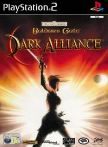 Baldur's Gate Dark Alliance 2001 Game Cover