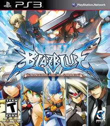 BlazBlue Continuum Shift 2010 Game Cover