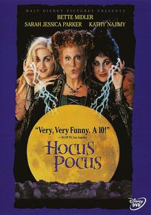 Hocus Pocus 1993 DVD Cover