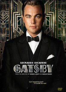 The Great Gatsby 2013 DVD Cover