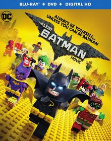 The Lego Batman Movie 2017 Blu-Ray DVD Cover