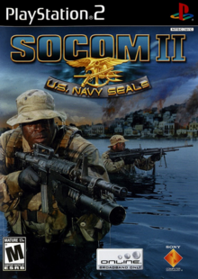 SOCOM II U.S. Navy Seals Game Cover