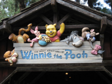 The Many Adventures of Winnie the Pooh 1999 Sign