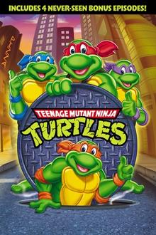 Teenage Mutant Ninja Turtles 1987 DVD Cover