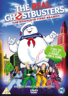 The Real Ghostbusters 1986 DVD Cover