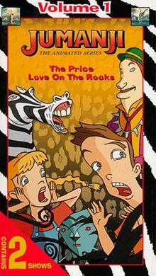 Jumanji 1996 VHS Cover