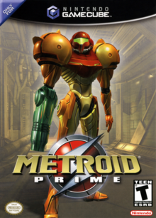 Metroid Prime 2002 Game Cover