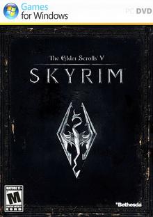 The Elder Scrolls V Skyrim 2011 Game Cover