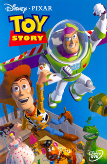 Toy Story 1995 DVD Cover