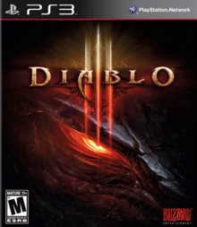 Diablo III 2012 Game Cover