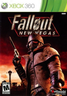 Fallout New Vegas 2010 Game Cover