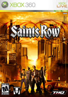 Saints Row 2006 Game Cover
