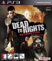 Dead to Rights Retribution 2010 Game Cover