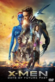 X-Men Days of Future Past 2014 DVD Cover