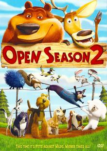 Open Season 2 2008 DVD Cover