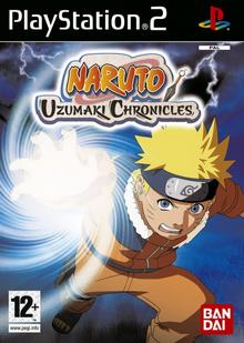 Naruto Uzumaki Chronicles 2006 Game Cover