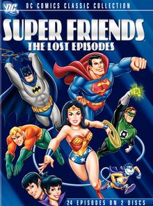 Super Friends 1983 DVD Cover